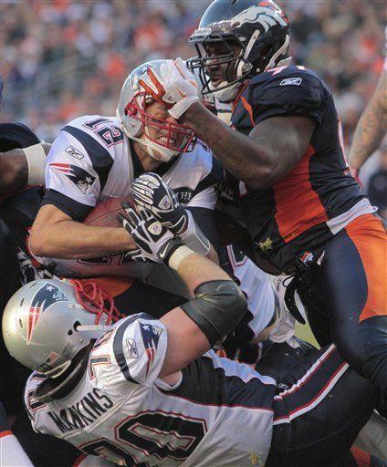 NFL: Patriots 41, Broncos 23; Nueva Inglaterra frena a Tebow