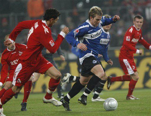 Colonia empata 1-1 ante Arminia Bielefeld