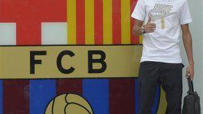 Neymar firma con Barsa