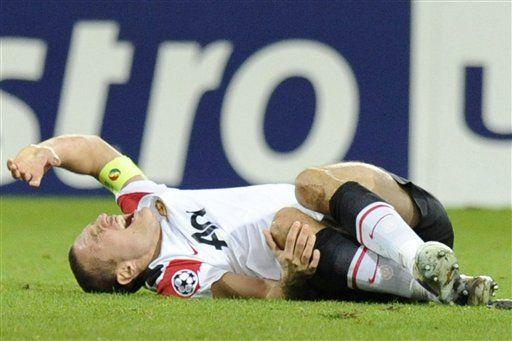 Vidic se perderá toda la temporada por lesión de rodilla