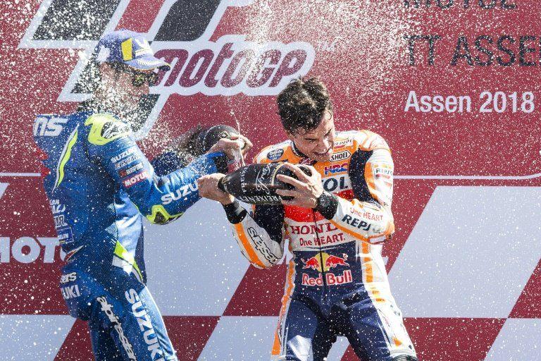 Marc Márquez se impone en el Gran Premio de Holanda