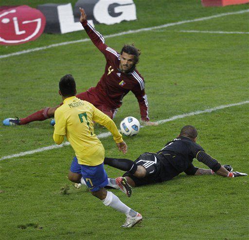 América: Brasil empata 0-0 con Venezuela