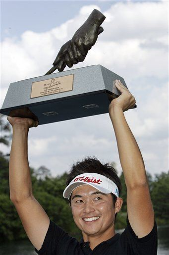 Imada gana desempate y conquista 1er título en la PGA
