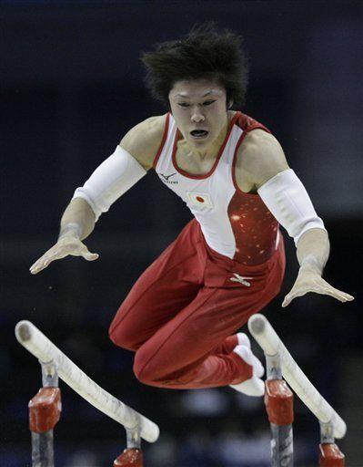 Mundial: Uchimura gana el oro en concurso completo
