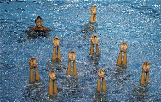 Mundial de natación: temor a la carne contaminada