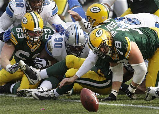 NFL: Packers 26, Lions 0; Rodgers lanza para 358 yardas
