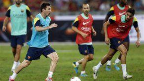 Messi no juega en Malasia por sobrecarga