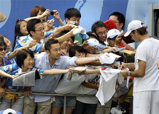 Desde una nueva perspectiva, Federer debuta en el tenis olímpico