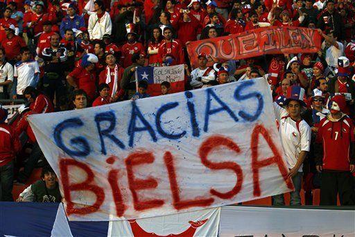 Bielsa recibe bienvenida calurosa en el Athletic de Bilbao