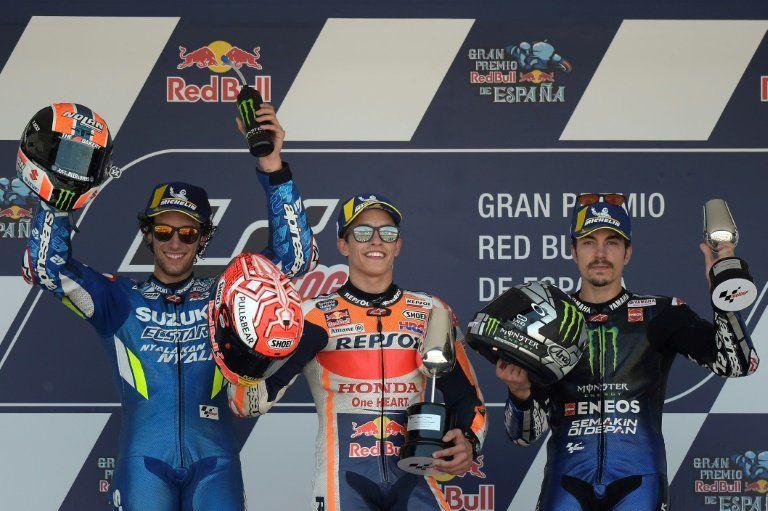 Marc Márquez gana el Gran Premio de España de MotoGP