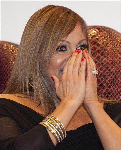 Jenni Rivera, Esteban Loaiza reciben estrellas en Las Vegas