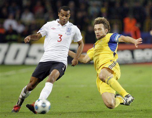 Mundial: Ucrania supera 1-0 a Inglaterra