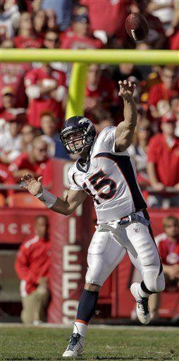 NFL: Broncos 17, Chiefs 10; Tebow da otra victoria a Denver