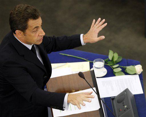 Sarkozy defiende decisión de ir a la apertura de olimpiadas