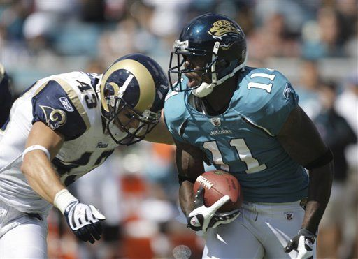 NFL: Jaguars 23, Rams 20, en tiempo extra