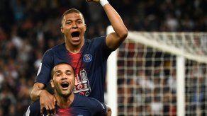 Mbappé se dispara con un triplete al frente de goleadores de Ligue 1
