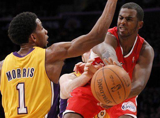 Debut de Paul con Clippers fija récord en canal de NBA