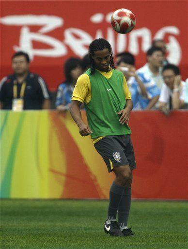 Ronaldinho tendrá su revancha en Beijing