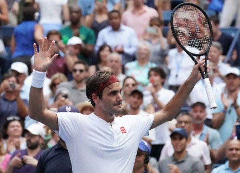 Federer barre a Paire y jugará contra Kyrgios en tercera ronda del US Open