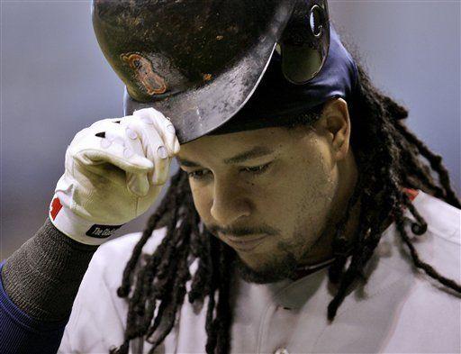 Manny Ramírez no piensa en su contrato