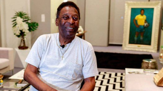 Pelé celebra sus 81 años en Brasil