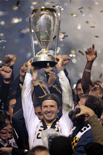 MLS: Donovan y Beckham guían al Galaxy de Los Angeles al título
