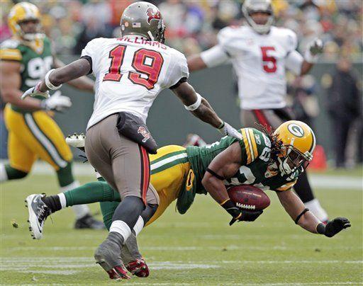Packers derrota a Buccaneers con TD de último momento de Rodgers