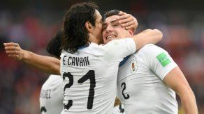 Uruguay firma un agónico triunfo por 1-0 ante Egipto en su debut en el Mundial