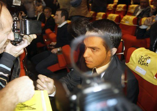 Comienza juicio a Contador por presunto dopaje en Tour 2010