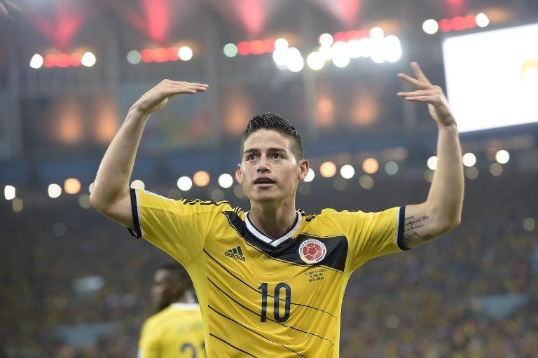 James Rodríguez, finalista a gol del año por su tanto a Uruguay