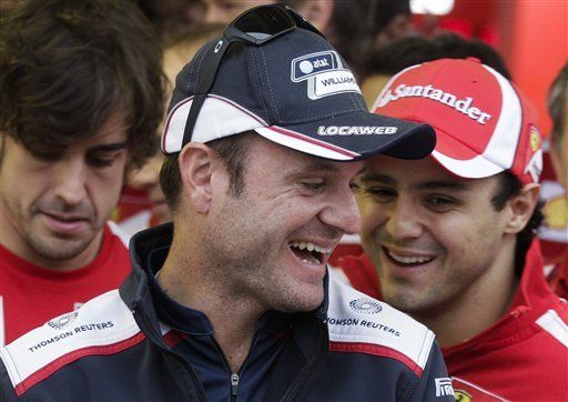 Pilotos esperan que Barrichello siga en la F1 en 2012