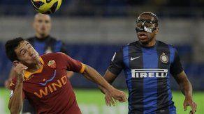 Roma vence 2-1 a Inter en semis de Copa Italia