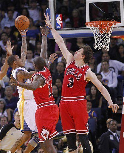 NBA: Warriors 99, Bulls 91; Curry guía a Warriors sobre Bulls