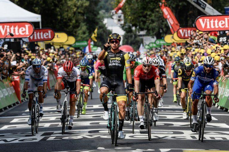 Groenwegen repite triunfo en la octava etapa del Tour de Francia