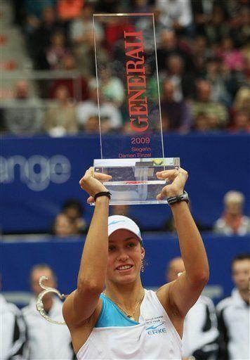 Wickmayer gana torneo de Linz al vencer a Kvitova