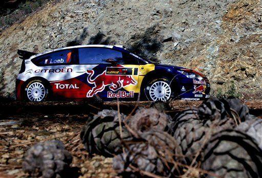 Loeb al frente en primer día de Rally de Chipre