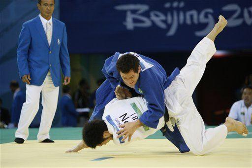 Al brasileño Camilo se le escapa nuevamente el oro en judo