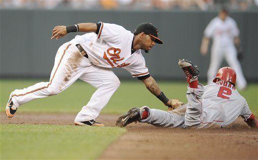 MLB: Orioles 3, Angelinos 2; Jones impulsa a Baltimore