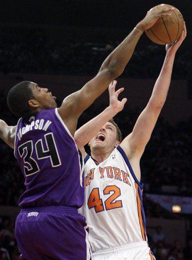 NBA: Kings 121, Knicks 94; Kevin Martin encesta 30 puntos
