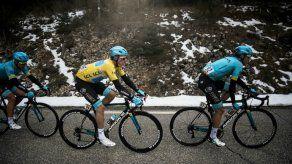 Jerome Cousin gana la quinta etapa de la París-Niza y Luis León sigue líder