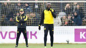 El Rayo Bolt incendia el entrenamiento del Borussia Dortmund