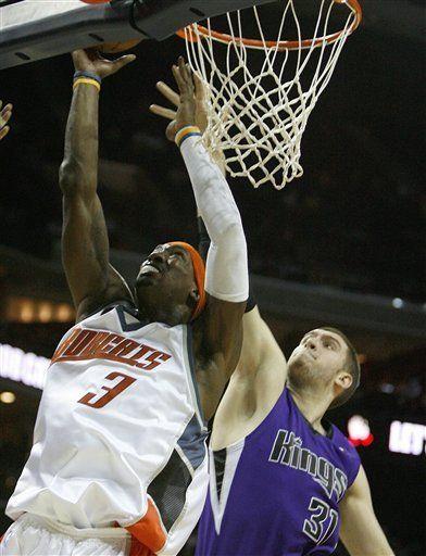 NBA: Bobcats 104, Kings 88; Wallace aporta 25 puntos