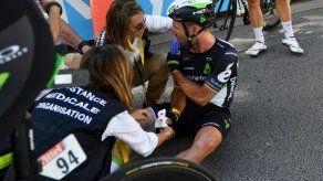Cavendish abandona el Tour tras su caída provocada por Sagan