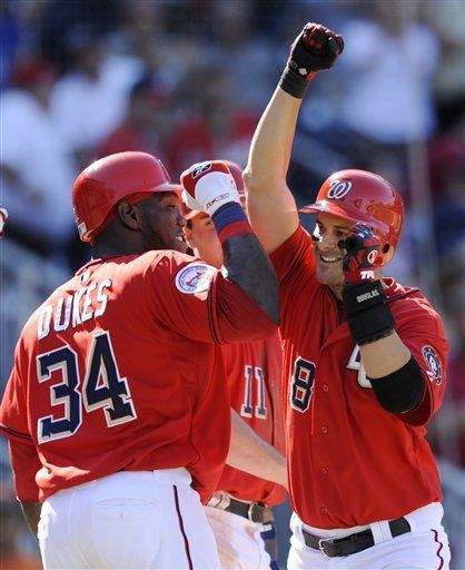 MLB: Nacionales 8, Bravos 4
