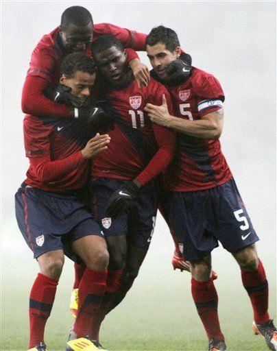 EEUU vence 3-2 a Eslovenia en amistoso