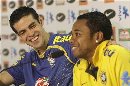 Mundial: Kaká sigue en duda ante Ecuador