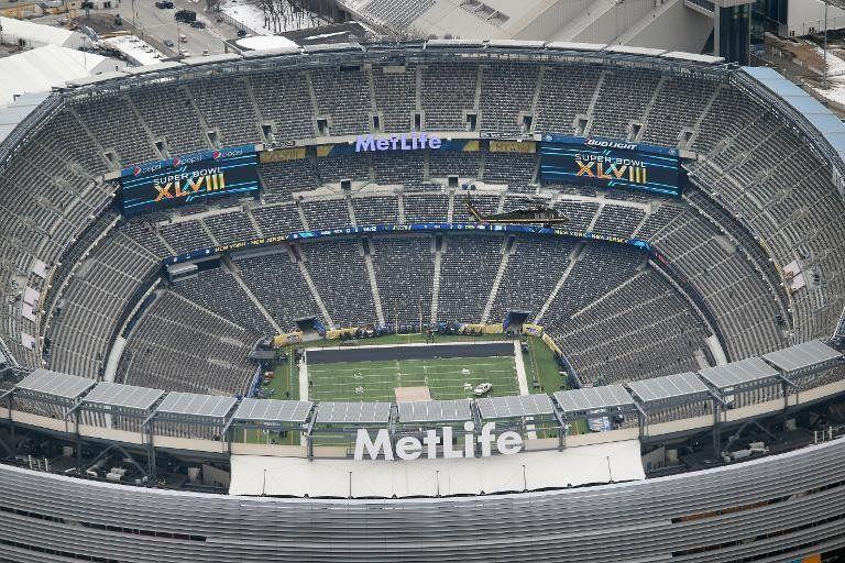 Preparativos del Super Bowl