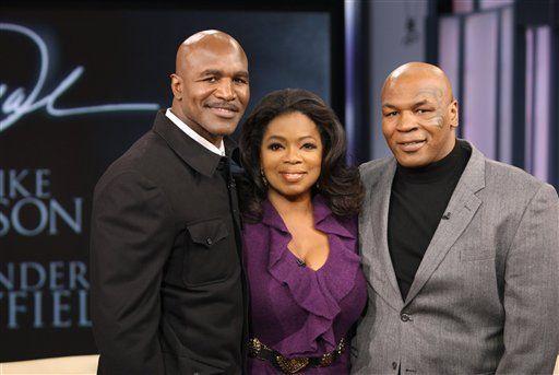 Sin golpes ni mordidas, Tyson y Holyfield se encuentran