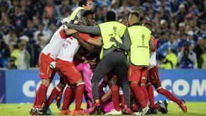 Santa Fe elimina a Millonarios en el clásico bogotano y avanza a cuartos de la Sudamericana