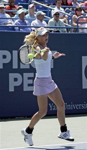 Wozniacki y Fish avanzan a finales en New Haven